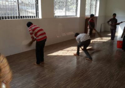 Islamiyat Students given practical demonstation on cleanliness (2)