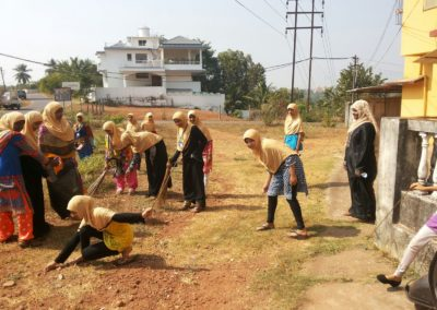 Islamiyat Students given practical demonstation on cleanliness (3)