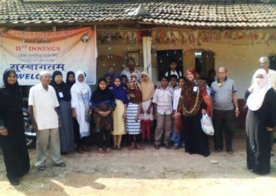Islamiyat Students visit Oldage Home (2)